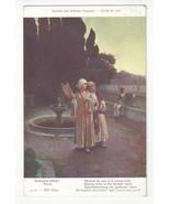 Rodolphe Ernst Paris Salon 1912 La Corne d'Or Vtg Les Freres Neurdein Po... - $6.36