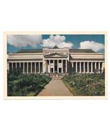 Russia USSR Moscow Pushkin Museum of Fine Arts Vtg Soviet Era Postcard CCCP - $4.74