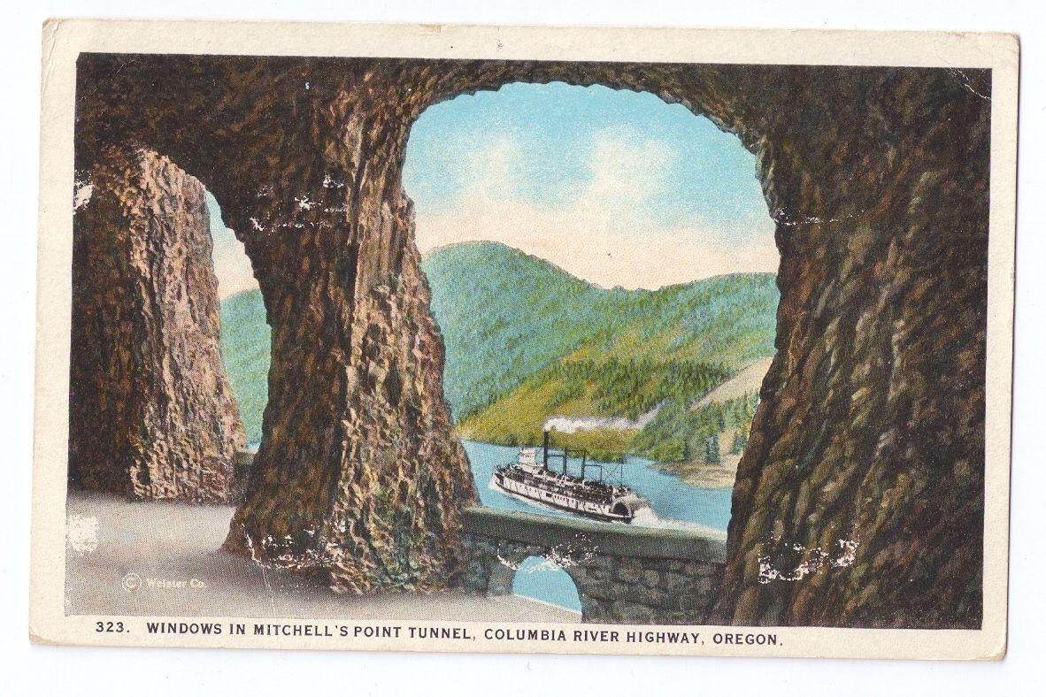 RMS Trans Clk Portland Oregon RR 1924 Railroad Cancel Postmark