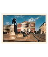 Russia USSR Moscow Soviet Working People's Deputies Building Vtg Postcar... - $7.40