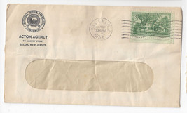 Salem NJ Commercial Advertising Cover Acton National Union Insurance Age... - $3.50