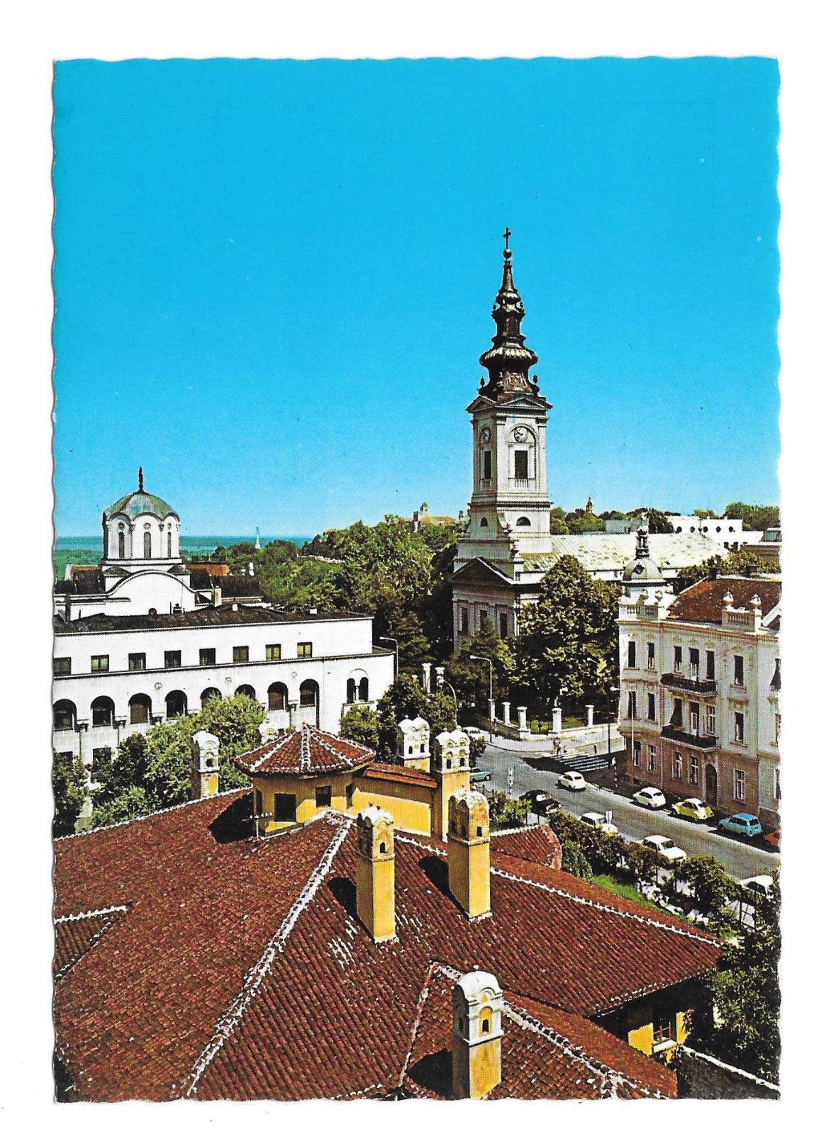 Serbia Belgrade Cathedral Orthodox Patriarchate Vtg Postcard 4X6