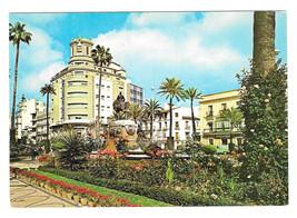 Spain Cadiz Jerez de la Frontera Catholic Kings Square Vtg Postcard 4X6 - $4.74