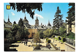 Spain El Escorial Monastery from Benavente Square San Lorenzo Vtg Postca... - $6.17