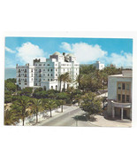 Spain Cadiz Hotel Atlantico Vtg Postcard 4X6 - $6.36