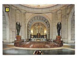 Spain Santa Cruz Valle de Los Caidos Main Altar Crypt Church Vtg Postcar... - $6.45