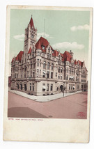 St Paul MN Post Office Minnesota 1905 Detroit Photographic Postcard - $4.74
