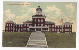 Topton PA Lutherans Orphans Home Vintage ca 1910 Postcard - $7.40