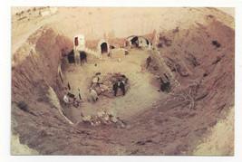 Tunisia Matmata Troglodyte Underground Homes Berber Village Vtg Postcard... - $6.45