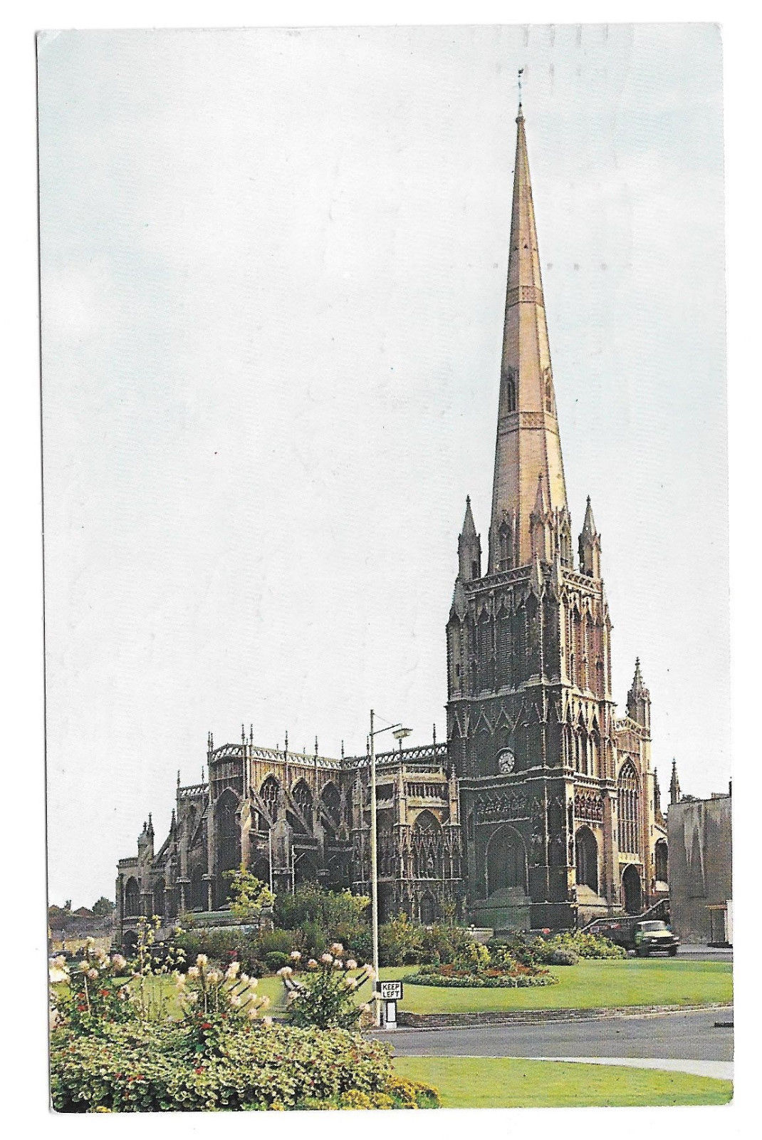 Primary image for UK Bristol St Mary Redcliffe Church Vtg 1964 Postcard