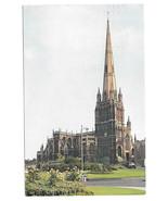 UK Bristol St Mary Redcliffe Church Vtg 1964 Postcard - $4.74