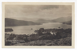 UK England Windermere and Bowness Bay G.B. Abraham Real Photo Postcard RPPC - $6.17