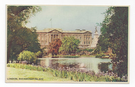 UK London Dixon Buckingham Palace Vintage Colorgravure Postcard - $6.45