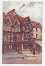 UK Stratford on Avon Harvard House Garrick Inn J Salmon W.W. Quatremain ... - $6.69