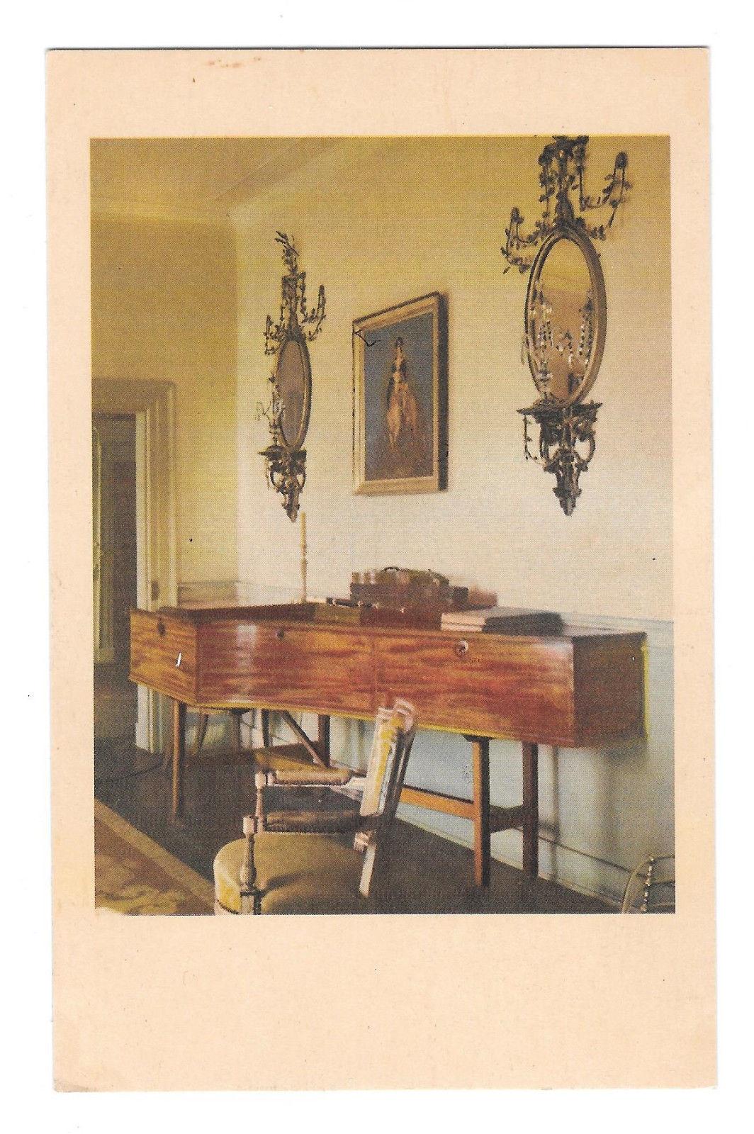 VA Mount Vernon Music Room George Washingtons Home Vtg MVLA Postcard