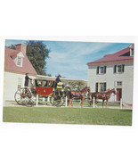 VA Mount Vernon Powel Horse Drawn Coach Vintage Postcard - $6.45