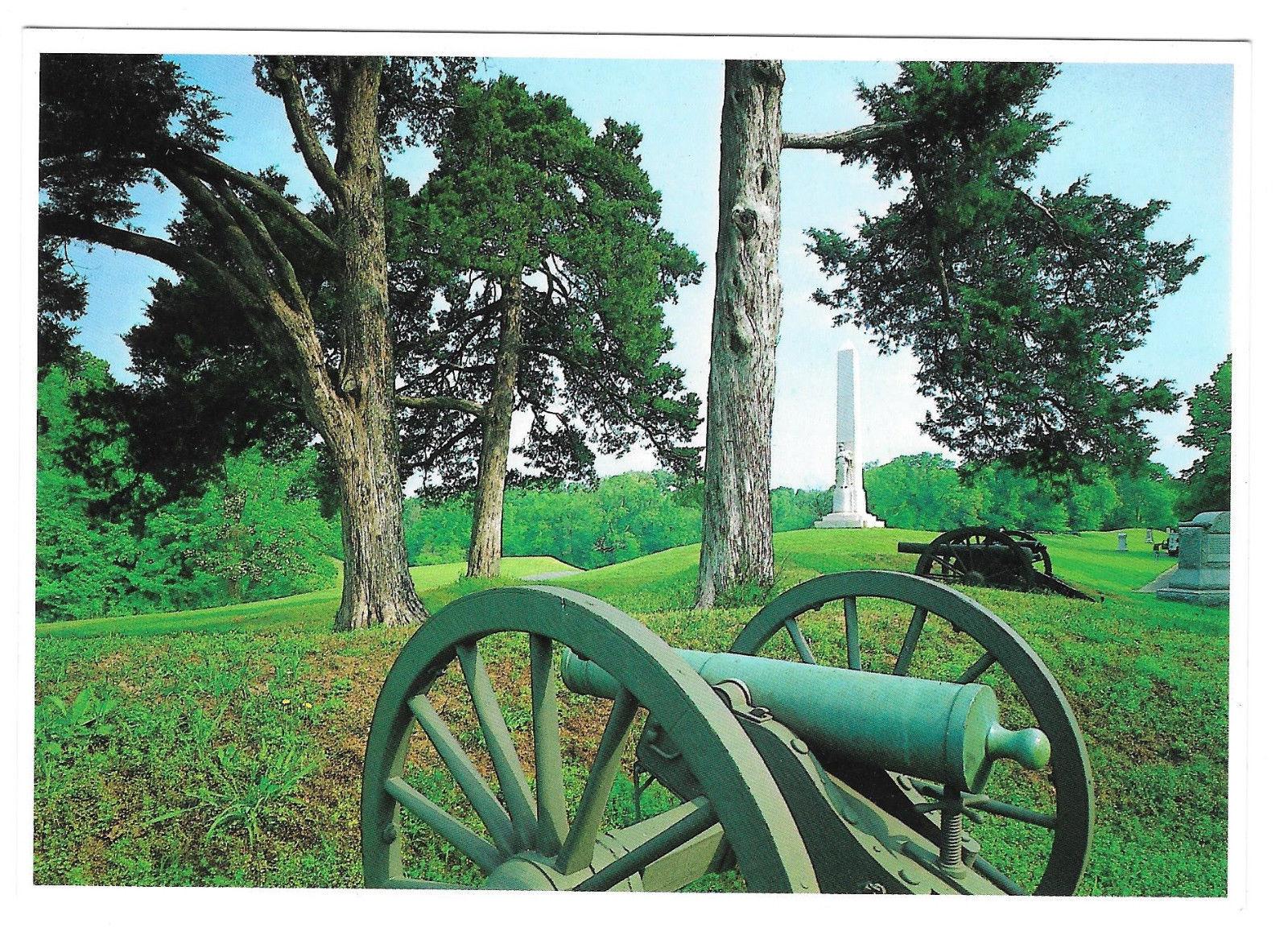 Vicksburg National Park Battery Degolyer Cannon Mississippi Vtg Postcard 4X6 MS
