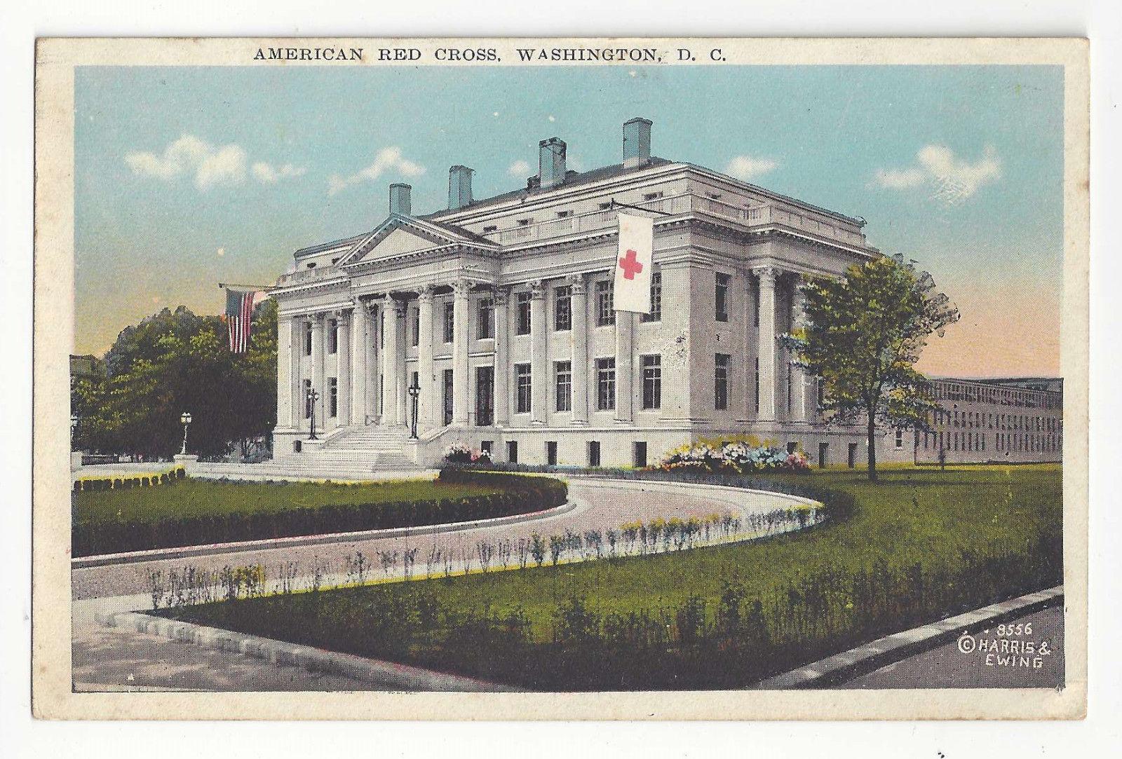 Washington DC American Red Cross Building Vtg Postcard