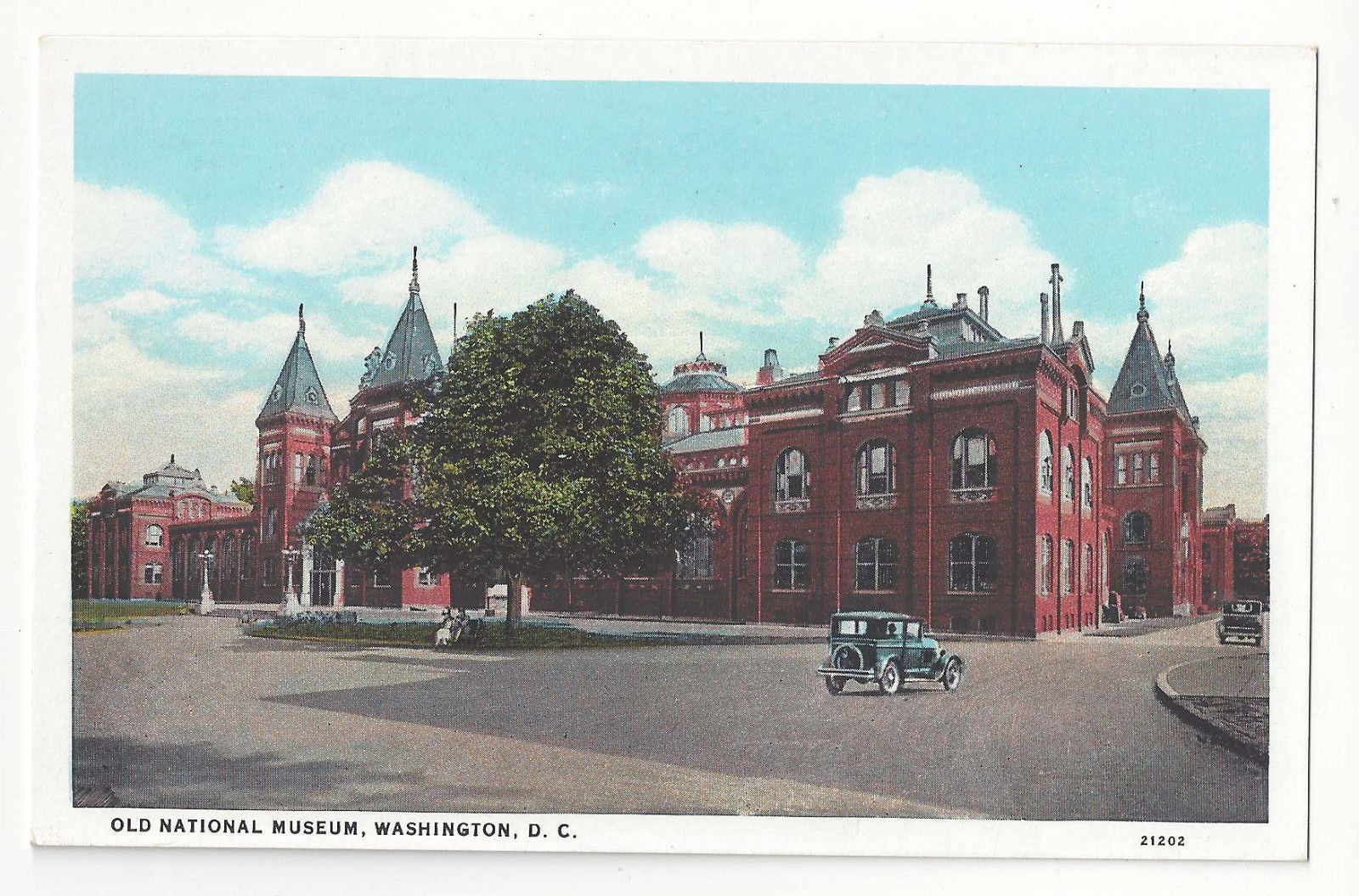 Washington DC Old National Museum Vtg BS Reynolds Postcard