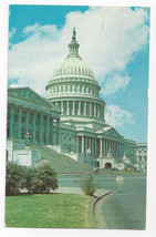 Washington DC United States Capitol Building Vintage 1962 Postcard - $6.17
