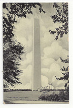 Washington DC Washington Monument Vtg  Postcard 1908 - $4.74