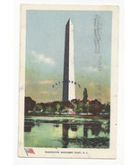 Washington DC Washington Monument Vtg Ullman Postcard 1907 - $4.74