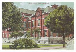 West Chester PA Public School Biehn Bicentennial Repro Postcard 1999 4X6 - $6.45