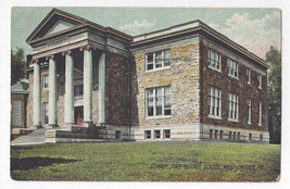 West Chester PA State Normal School Library University Rotograph Postcard - $4.74