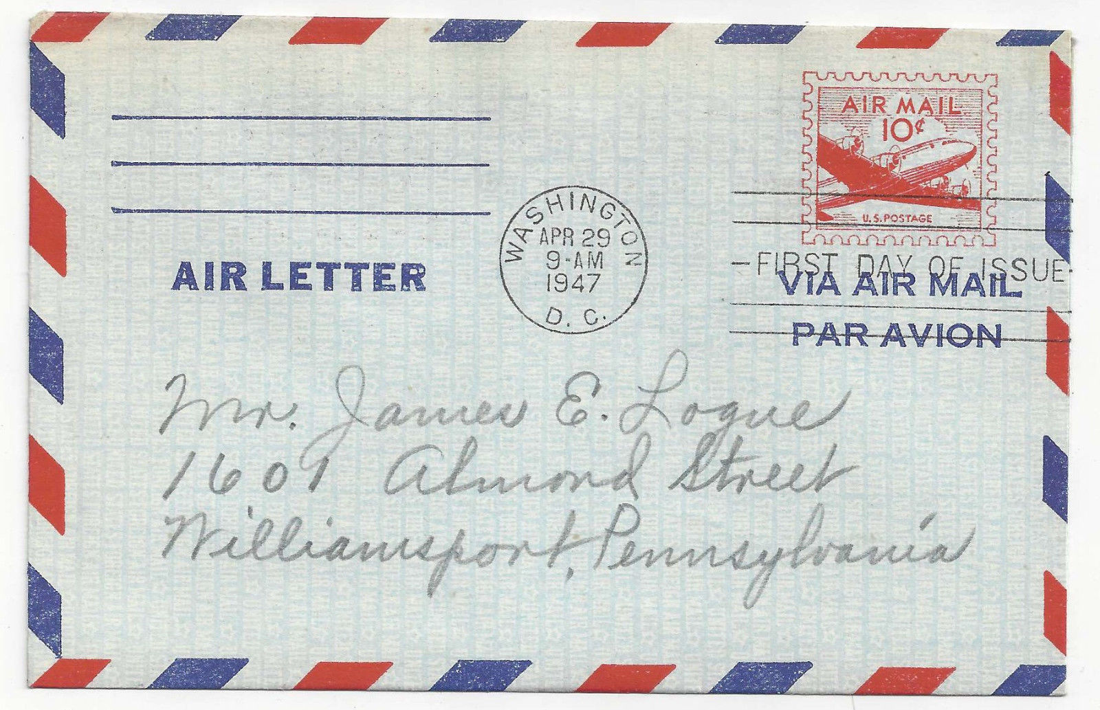US Air Mail FDCs Sc C32 UC14 UC16 Combo Air Letter Skymaster lot of 3 Covers
