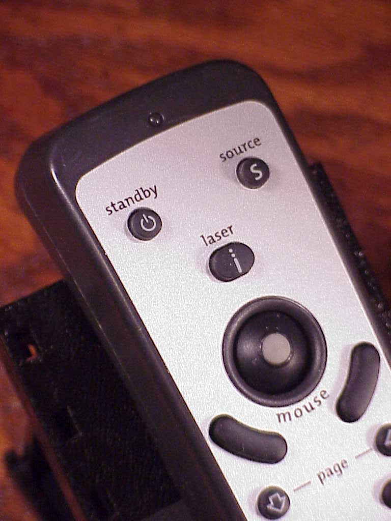 Compaq Projector Remote Control, no. 176974-001, with Laser Pointer, tested