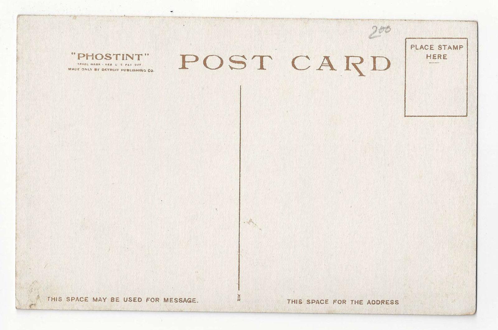 Washington DC Continental Hall Vtg Photostint Detroit Publishing Postcard