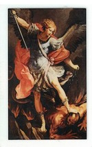 Laminated Prayer Card - San Miguel Arcangel - L300.0090