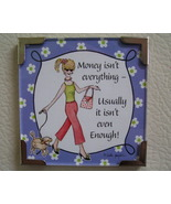 Linda Grayson gift magnet Money new - $4.00