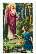 Laminated Prayer Card - San Rafael Arcangel - L300.0092 - $1.99