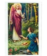 Laminated Prayer Card - San Rafael Arcangel - L300.0092 - $1.99