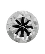 5.00ct 10mm Round Synthetic White Sapphire From Swit - $14.00