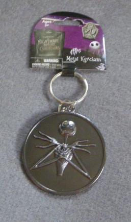 Licensed Disney The Nightmare Before Christmas Jack Skellington Metal Key Chain