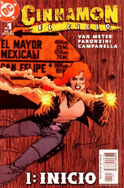 CINNAMON EL CICLO #1 (DC Comics) NM!