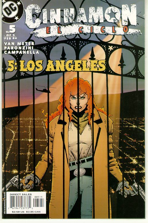 CINNAMON EL CICLO #5 (DC Comics) NM!
