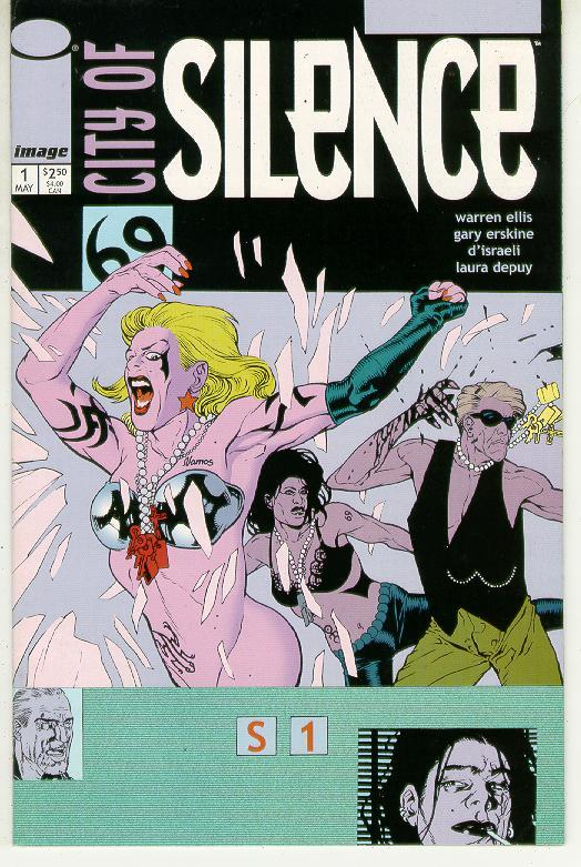 CITY of SILENCE #1 (Image Comics)
