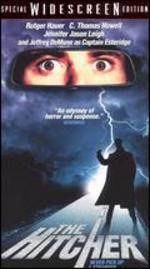 The Hitcher...Starring: C. Thomas Howell, Rutger Hauer, Jennifer Jason Leigh VHS