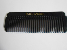 Estee lauder comb small black travel comb - $12.30