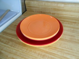 plastic plates ~ lot of 6 ~ gourmet home products plates 3 colors / 2 sizes : gourmet home products plastic plates - pezcame.com