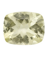 2.75ct 11x9mm Cushion Yellow Labradorite From ... - $12.00