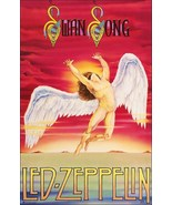 Led Zeppelin Band SWAN SONG Image Stand-Up Display - Collectibles Classi... - $15.99