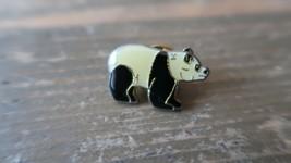 """Vintage Enamel Panda Bear Lapel Pin 7/8"""" - $11.88"""