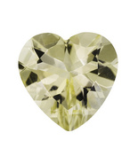 4.00ct 12mm Heart Shape Yellow Labradorite - $34.99