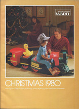 MONTGOMERY WARD Christmas Catalog for 1980 WARDS w/ Sleeve - $39.00