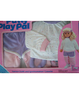 "1987 IDEAL TALKING  24"" PATTY PLAYPAL EXERCISE GEAR  & A PLAYPAL WORKOUT... - $28.71"