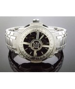 50 Cent G-unit Gs8 -44mm 1.45ct Diamond Watch Black face - $787.05